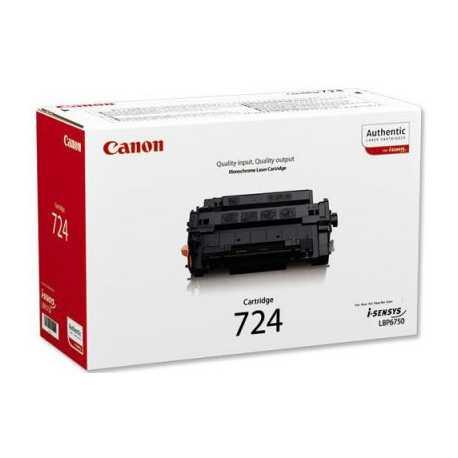 CANON CRG-724 Orijinal Siyah Lazer Toner CRG 724