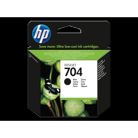 HP 704 - CN692A SİYAH ORJİNAL KARTUŞ
