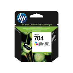 HP 704 - CN693A RENKLİ ORJİNAL KARTUŞ