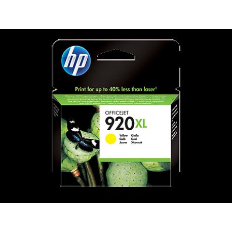 HP 920XL - CD974AE Yüksek Kapasiteli Sarı Orijinal Mürekkep Kartuşu
