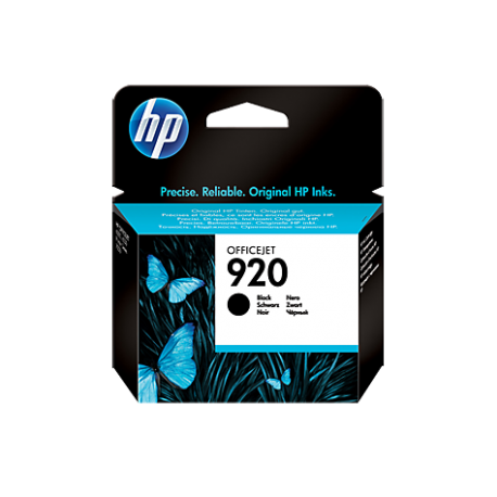 HP 920 - CD971AE Siyah Orijinal Mürekkep Kartuşu