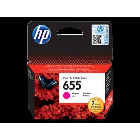 HP 655 - CZ111AE Magenta Orijinal Ink Advantage Mürekkep Kartuşu