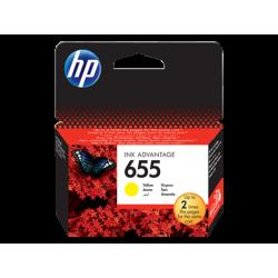 HP 655 - CZ112AE Sarı Orijinal Ink Advantage Mürekkep Kartuşu
