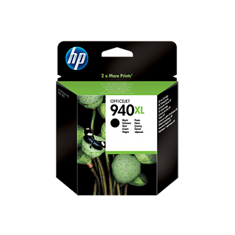 HP 940XL - C4906AE Yüksek Kapasiteli Siyah Orijinal Mürekkep Kartuşu