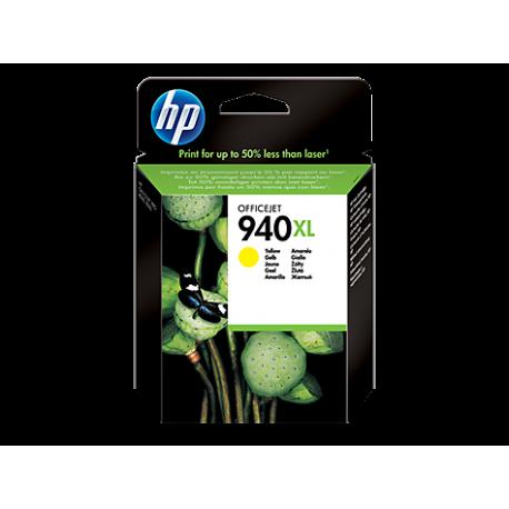 HP 940XL - C4909AE Yüksek Kapasiteli Sarı Orijinal Mürekkep Kartuşu