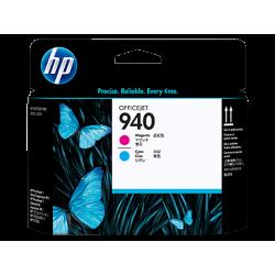 HP 940 - C4901A Macenta ve Camgöbeği Orijinal Yazıcı Kafası
