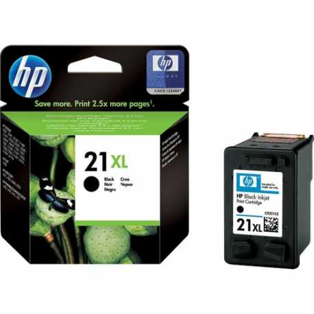 HP 21XL - C9351CE Yüksek Kapasiteli Siyah Orijinal Mürekkep Kartuşu