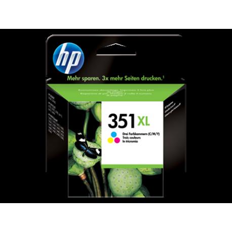 HP 351XL - CB338EE Yüksek Kapasiteli Üç Renkli Orijinal Mürekkep Kartuşu