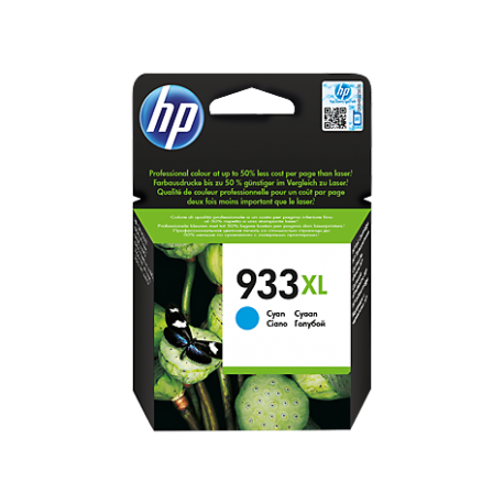 HP 933XL - CN054AE Yüksek Kapasiteli Camgöbeği Orijinal Mürekkep Kartuşu