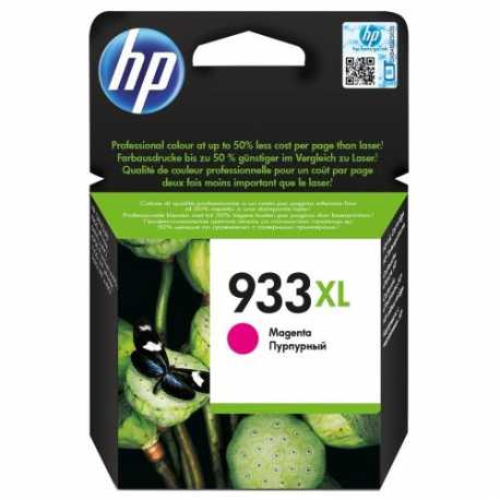 HP 933XL - CN055AE Yüksek Kapasiteli Macenta Orijinal Mürekkep Kartuşu