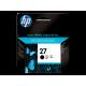 HP 27 -C8727AE Siyah Orijinal Mürekkep Kartuşu