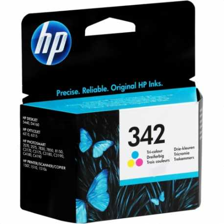 HP 342 - C9361EE Üç Renkli Orijinal Mürekkep Kartuşu