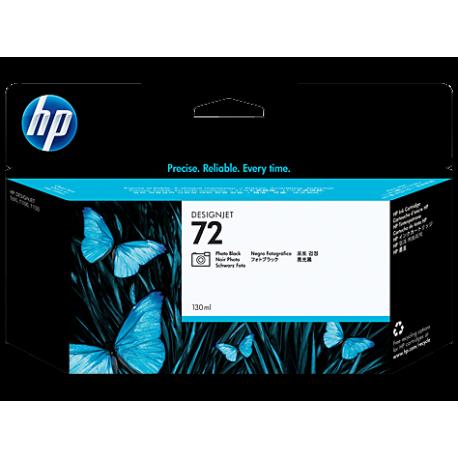 HP 72 - C9370A Mat Siyah Mürekkep Kartuşu (130 ml)