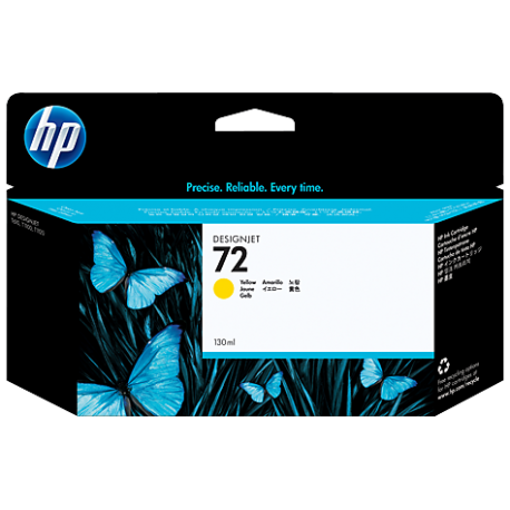 HP 72 - C9373A Sarı DesignJet Orijinal Mürekkep Kartuşu (130 ml)