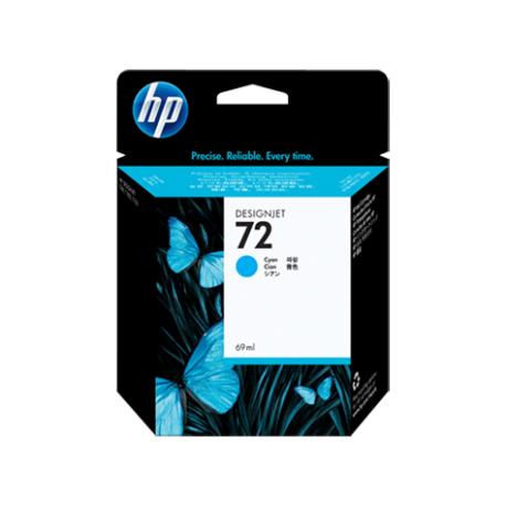 HP 72 - C9398A Camgöbeği DesignJet Orijinal Mürekkep Kartuşu (69 ml)