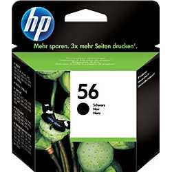 HP 56 - C6656AE Siyah Orijinal Mürekkep Kartuşu