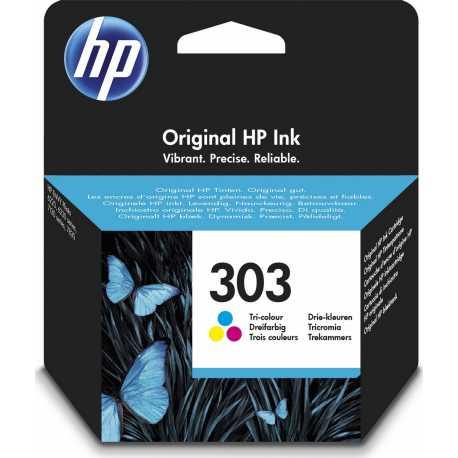 HP 303 - T6N01AE Üç Renkli Orijinal Mürekkep Kartuşu