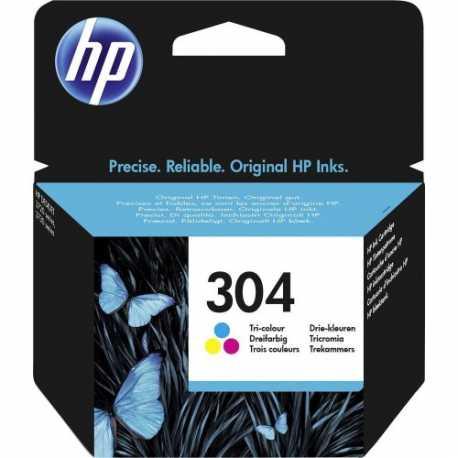 HP 304 - N9K05AE Üç Renkli Orijinal Mürekkep Kartuşu