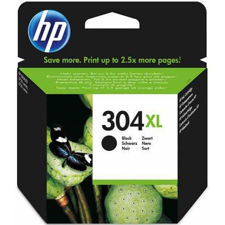 HP 304XL - N9K08AE Yüksek Kapasiteli Siyah Orijinal Mürekkep Kartuşu