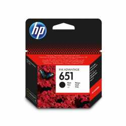 HP 651 - C2P10AE Siyah Orijinal Ink Advantage Mürekkep Kartuşu