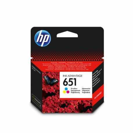 HP 651 - C2P11AE Üç Renkli Orijinal Ink Advantage Mürekkep Kartuşu
