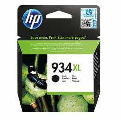 HP 934XL - C2P23AE Yüksek Kapasiteli Siyah Orijinal Mürekkep Kartuşu