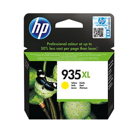 HP 935XL - C2P26AE Yüksek Kapasiteli Sarı Orijinal Mürekkep Kartuşu