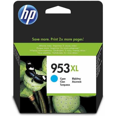HP 953XL - F6U16AE Yüksek Kapasiteli Camgöbeği Orijinal Mürekkep Kartuşu