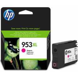 HP 953XL - F6U17AE Yüksek Kapasiteli Macenta Orijinal Mürekkep Kartuşu