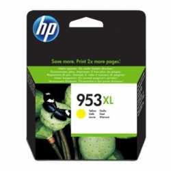 HP 953XL - F6U18AE Yüksek Kapasiteli Sarı Orijinal Mürekkep Kartuşu