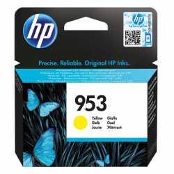 HP 953 - F6U14AE Sarı Orijinal Mürekkep Kartuşu