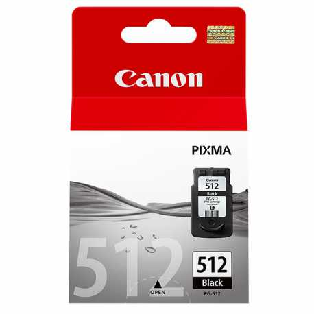 CANON PG-512 Yüksek Kapasiteli Siyah Orijinal Mürekkep Kartuşu PG512 / PG 512