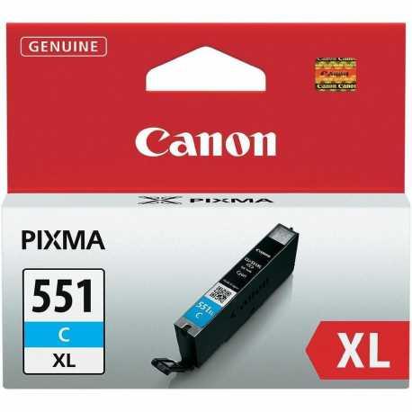 CANON CLI-551C XL Yüksek Kapasiteli Mavi Orijinal Mürekkep Kartuşu CLI 551 C XL