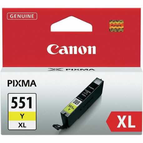 CANON CLI-551Y XL Yüksek Kapasiteli Sarı Orijinal Mürekkep Kartuşu CLI 551 Y XL