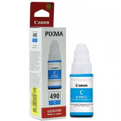 Canon GI-490C Mavi Orijinal Mürekkep Şişesi (70ml) 0664C001
