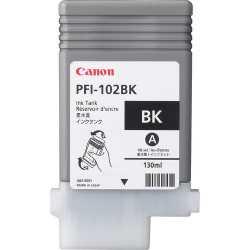 CANON PFI-102BK (130ml) Siyah Orijinal Mürekkep Kartuşu