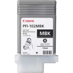 CANON PFI-102MBK (130ml) Mat Siyah Orijinal Mürekkep Kartuşu (Ink Tank)