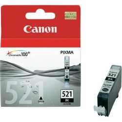 CANON CLI-521BK Foto Siyah Orijinal Mürekkep Kartuşu CLI 521 BK