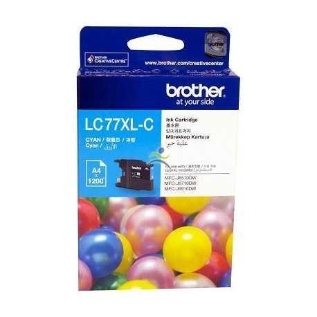 BROTHER LC-77XL-BK Siyah Orijinal Mürekkep Kartuşu LC77XLBK