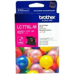 BROTHER LC-77XL-M Kırmızı Orijinal Mürekkep Kartuşu LC77XLM