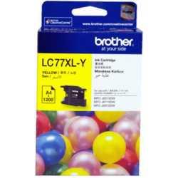 BROTHER LC-77XL-Y Sarı Orijinal Mürekkep Kartuşu LC77XLY