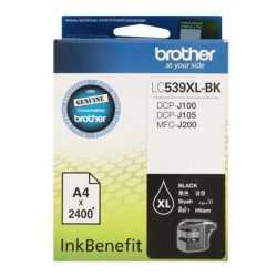 BROTHER LC-539XL-BK Siyah Orijinal Mürekkep Kartuşu LC539XL BK