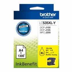 BROTHER LC-535XL-Y Sarı Orijinal Mürekkep Kartuşu LC535XL Y