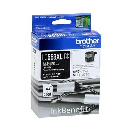 BROTHER LC-569XL-BK Siyah Orijinal Mürekkep Kartuşu LC569XL BK