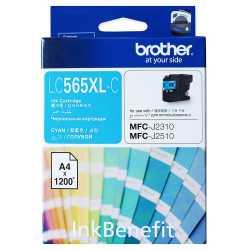 BROTHER LC-565XL-C Cyan Orijinal Mürekkep Kartuşu LC565XL C