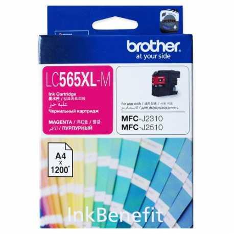 BROTHER LC-565XL-M Kırmızı Orijinal Mürekkep Kartuşu LC565XL M