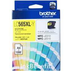 BROTHER LC-565XL-Y Sarı Orijinal Mürekkep Kartuşu LC565XL Y