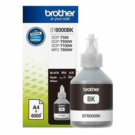 Brother BT6000BK Siyah Orijinal Mürekkep Şişesi (6000 Sayfa)