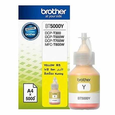 Brother BT5000Y Sarı Orijinal Mürekkep Şişesi (5000 Sayfa)