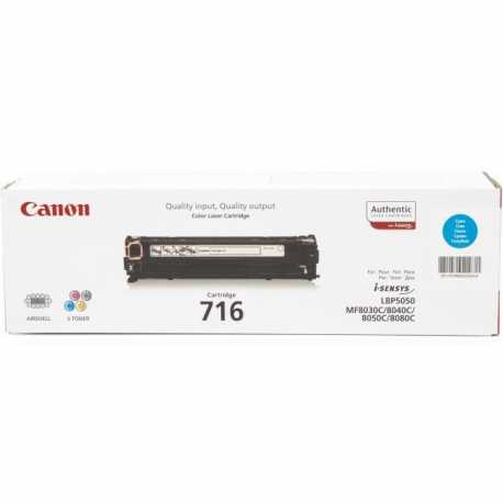 CANON CRG-716C Mavi Orijinal Lazer Toner CRG 716 C